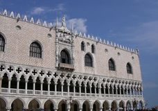 Doges palais, Venise Images libres de droits