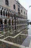 Doges-Palast - Piazzetta - Venedig lizenzfreie stockfotografie