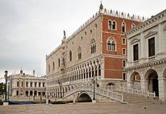 Doges slott, Venedig. Royaltyfri Fotografi