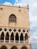 Dogesslott (Palazzo Ducale). Venedig Arkivfoton
