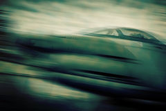 Dogfighter - blurred style photo Royalty Free Stock Image