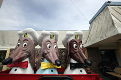Doggie Diner Remnants Stock Image
