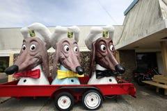 Doggie Diner Remnants Stock Images
