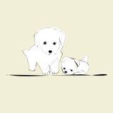 doggies Стоковые Фото
