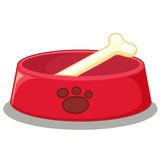 Doggy bowl Stock Photos