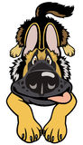 Doggy del fumetto Fotografia Stock