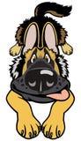 Doggy dos desenhos animados Foto de Stock