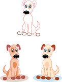 Doggy. illustration Royalty Free Stock Photos