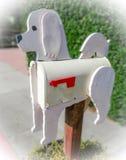 Doggy skrzynka pocztowa zdjęcia royalty free