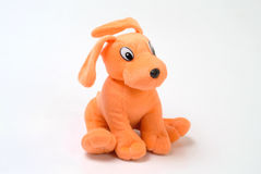 Doggy toy. A small doggy toy on the white background Royalty Free Stock Photo
