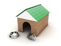 Doghouse Stock Image