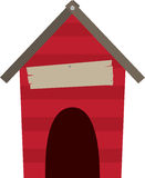 Doghouse Blank Caption Royalty Free Stock Images