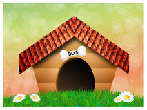 Doghouse Royalty Free Stock Photo