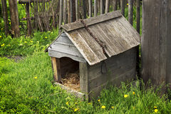 Doghouse village of the nineteenth century Stock Image