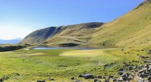 Dogjaska lake. Carpathians National Park, Biosphere Reserve Royalty Free Stock Photo