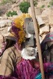 Dogon屏蔽,马里,非洲。 免版税库存照片