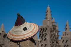 dogon帽子典型的马里 免版税库存照片