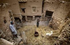 Dogon村庄, Dogon土地, Tireli,马里,非洲 免版税库存照片