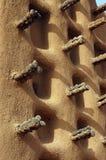 dogon清真寺泥侧面墙 库存图片