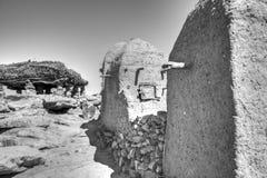 dogon στενός του χωριού τρόπο&sigma στοκ φωτογραφία