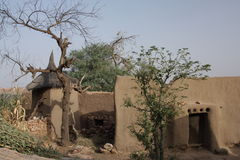Dogon archtitecture mali Stock Images