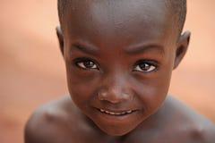 Dogon chłopiec Fotografia Royalty Free