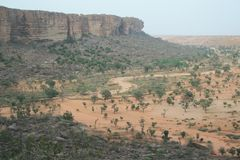 Dogon Country. Bandiagara in mali - Dogon Country Royalty Free Stock Images