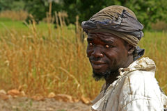Dogon farmer in Mali Stock Photography