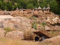 Dogon mali africa. A typical scene in dogon, mali Royalty Free Stock Photo