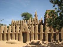 Dogon Moschee 3 Lizenzfreies Stockfoto