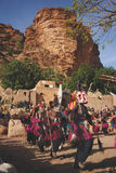 Dogon obrządkowy taniec z maskami, Mali, Afryka Obraz Stock