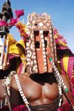 Dogon ritual dance with masks Stock Images