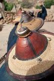 dogon typowy kapeluszowy Mali Fotografia Stock