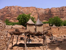 Dogon village, mali. Dogon village in mali africa Royalty Free Stock Image