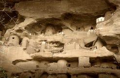 Dogon wioska, Dogon ziemia, Tireli, Mali, Afryka Obrazy Stock