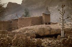 Dogon wioska, Dogon ziemia, Tireli, Mali, Afryka Fotografia Stock
