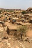 Dogon wioska w Mali, afryka zachodnia Zdjęcia Stock