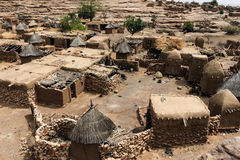 Dogon wioska w Mali, afryka zachodnia Zdjęcie Royalty Free