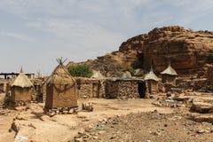 Dogon wioska w Mali, afryka zachodnia Zdjęcia Royalty Free