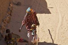 Dogon woman Stock Image