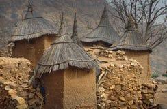 Dogondorp, Dogon-land, Tireli, Mali, Afrika royalty-vrije stock foto's