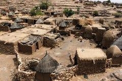 Dogondorp in Mali, West-Afrika royalty-vrije stock foto