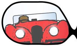 Dogonienie sportów samochód Obraz Royalty Free