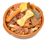 Dogs Dinner Stock Image