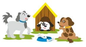 Dogs family Royalty Free Stock Photos