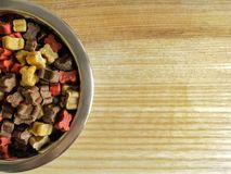 Dogs feed Royalty Free Stock Photo
