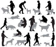dogs folk Fotografering för Bildbyråer