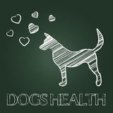 Dogs Health Shows Pups Care And Attention Royalty Free Stock Photo
