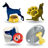 Dogs Icons - Super Render Stock Photo