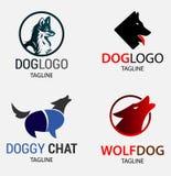 Dogs Pet Logos Royalty Free Stock Photos